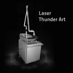 thunder art bw